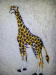 GIRAFFE PERSONALISED TOWEL SET